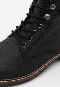 Barbour - WOLSINGHAM - Lace-up ankle boots - black - 5