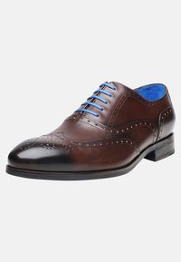 SHOEPASSION - NO. 5570 BL - Smart lace-ups - dark brown - 2