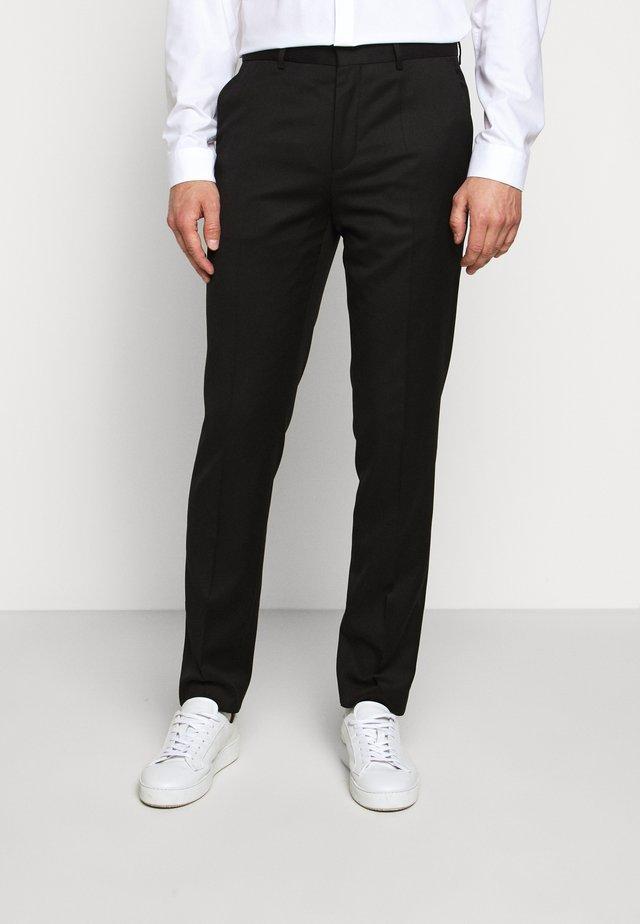 HARTLEY - Pantalon de costume - black