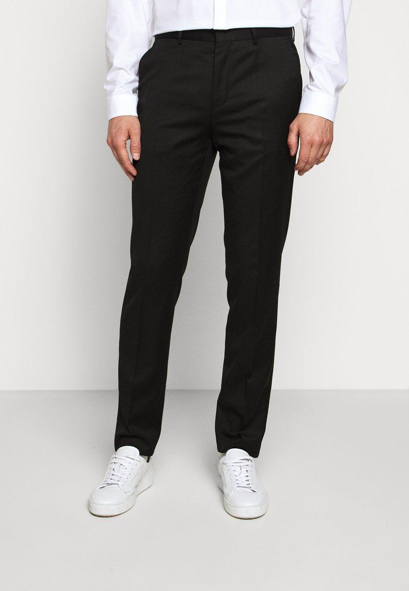 HUGO - HARTLEY - Suit trousers - black