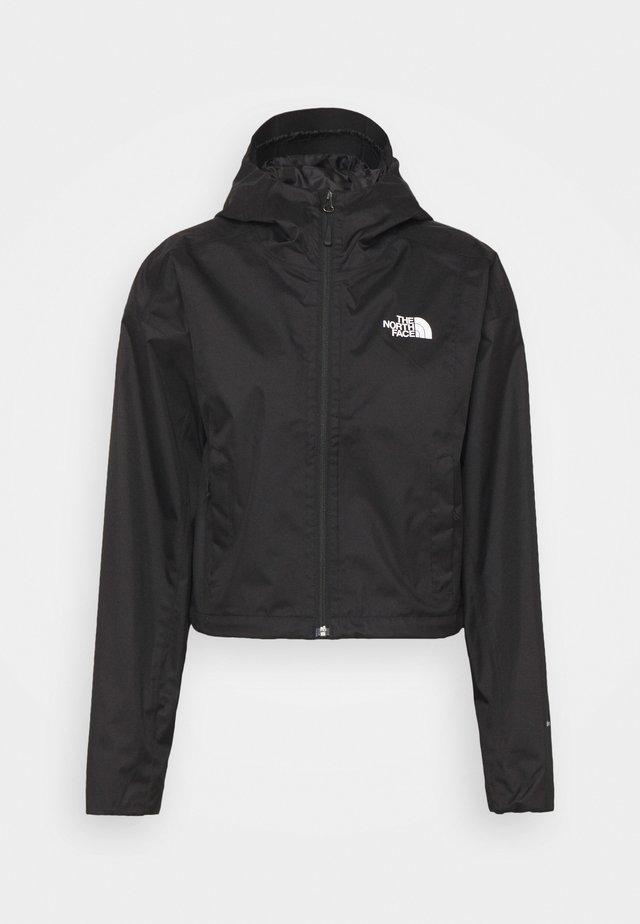 CROPPED QUEST JACKET  - Hardshell jacket - black