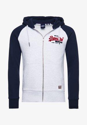 Zip-up hoodie - ice white