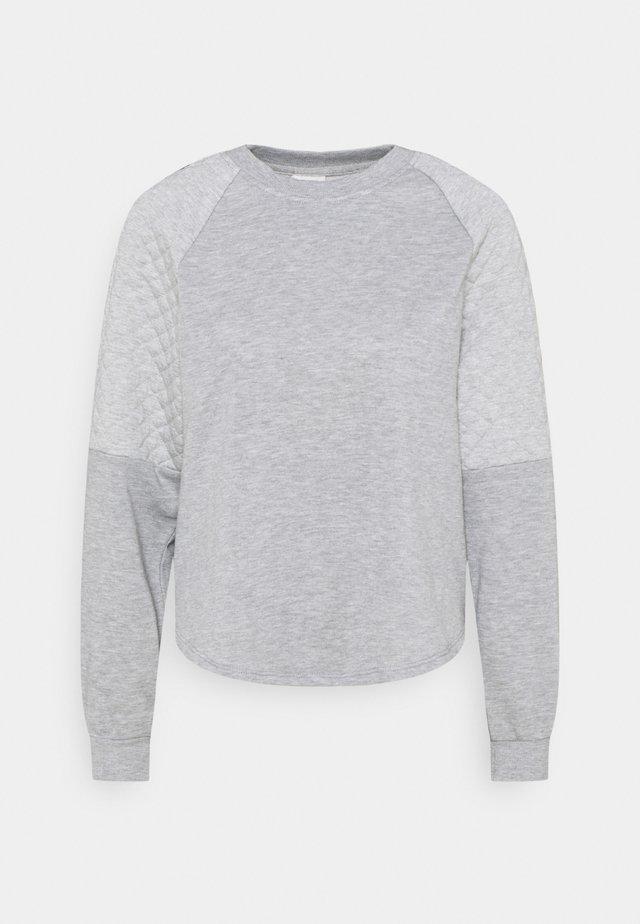 JDYNAPA RAGLAN - Bluza - light grey melange