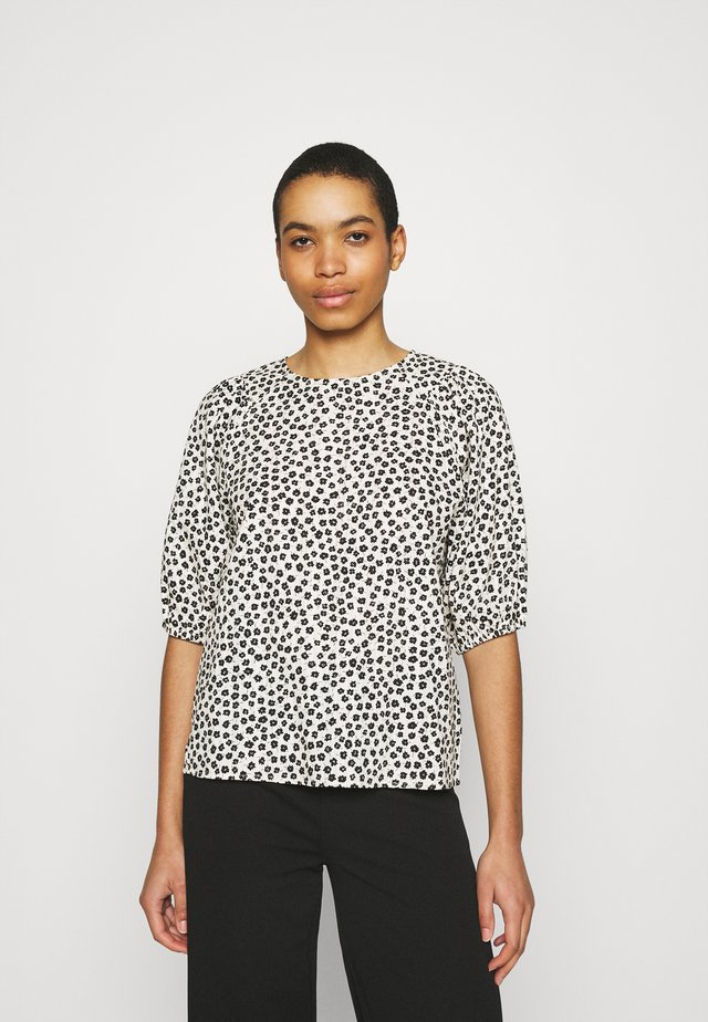 LATRICE - Print T-shirt - ecru