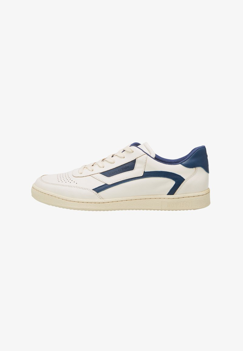 Marc O'Polo - COURT M1A - Sneakers basse - offwhite/navy