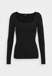 Even&Odd - T-shirt à manches longues - black - 3