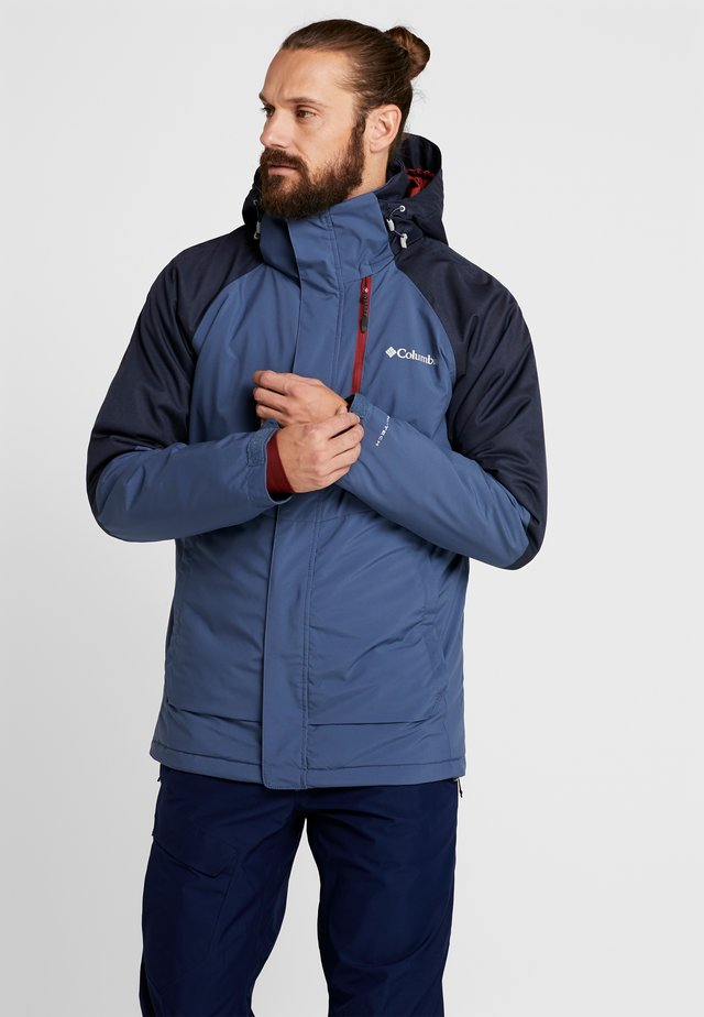 WILDSIDE JACKET - Ski jacket - dark mountain/collegiate navy heather