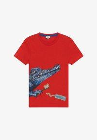 Paul Smith Junior - ADAM - Print T-shirt - scarlett red - 2