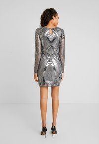 Nly by Nelly - LOVE THAT DRESS - Vestito elegante - silver - 3