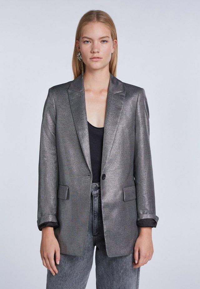 Blazer - silver black