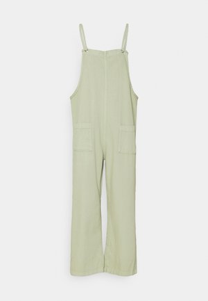 MONA DUNGAREES - Jumpsuit - green dusty light