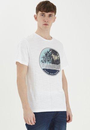 MIT PRINT - T-shirt con stampa - bright white