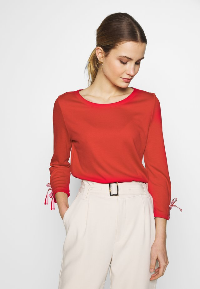 3/4 SLEEVE - T-shirt à manches longues - red