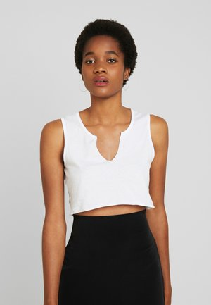CROPPED - Top - white