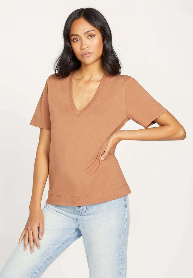 T-shirt basic - cq-dune