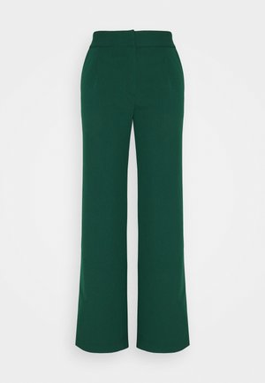YASBRIZAL WIDE PANTS - Trousers - pineneedle