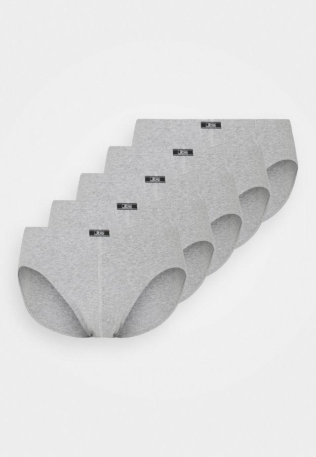 5 PACK - Slip - grau