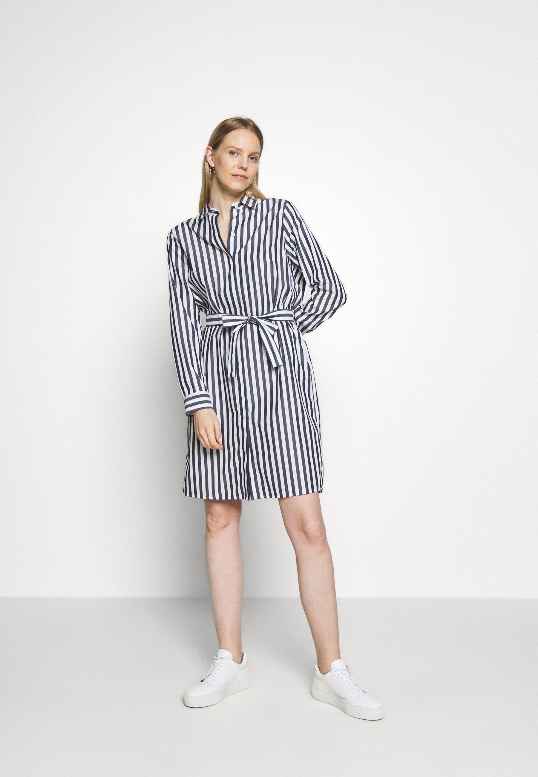 Outlet Women's Clothing Seidensticker Shirt dress navy Mgc6nVEkC