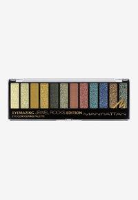 Manhattan Cosmetics - EYEMAZING EYE CONTOURING PALETTE - Eyeshadow palette - 007 jewel rocks - 0