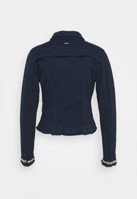 Liu Jo Jeans - GIUBBINO DRILL - Denim jacket - night - 1