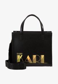 KARL LAGERFELD - SMALL TOTE - Kabelka - black - 5