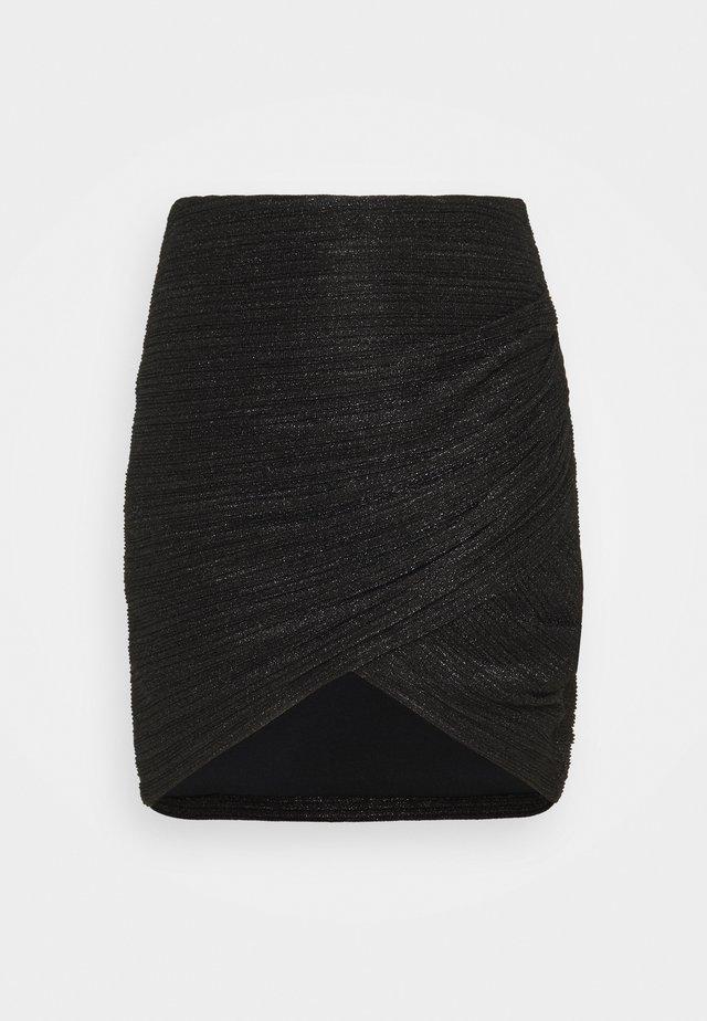 BRENDAL SKIRT - Minirock - black