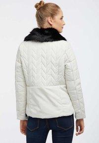 usha - Winter jacket - wool white - 2