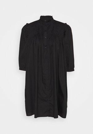 YASROBBIA DRESS - Skjortekjole - black