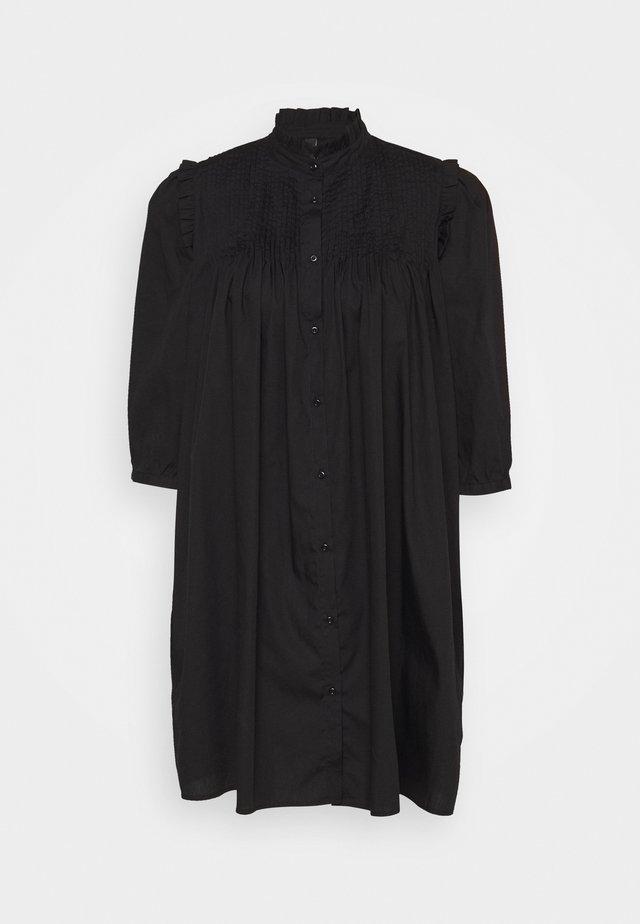 YASROBBIA DRESS - Shirt dress - black