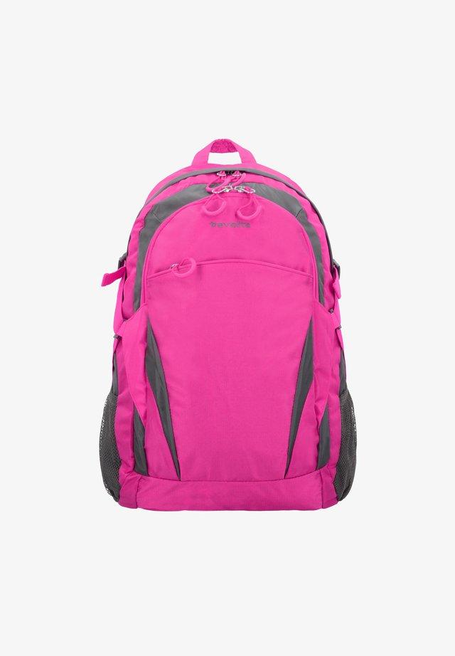 Rucksack - pink/grey