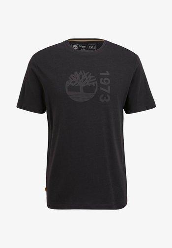SS BRANDED - Print T-shirt - black