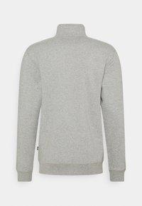 Dickies - OAKPORT QUARTER ZIP - Sweatshirt - grey melange - 1