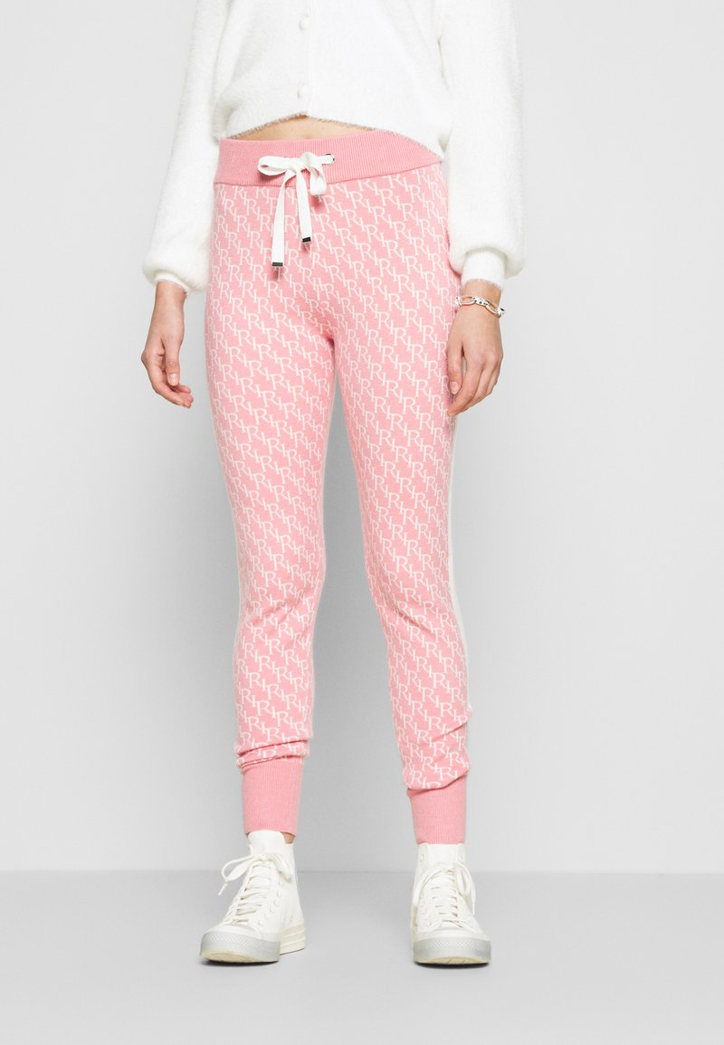 River Island - Tracksuit bottoms - pink