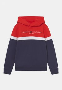 Tommy Hilfiger - COLORBLOCK HOODIE - Sweater - twilight navy - 0