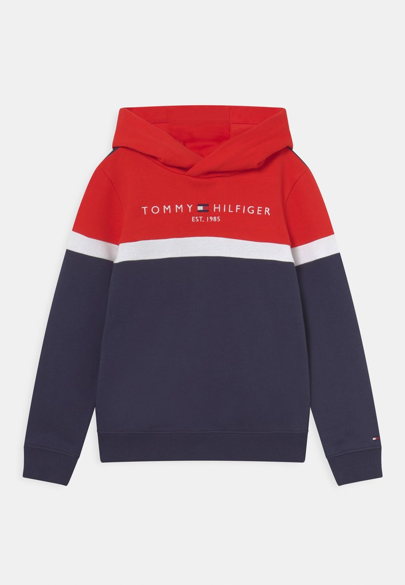 Tommy Hilfiger - COLORBLOCK HOODIE - Sweater - twilight navy