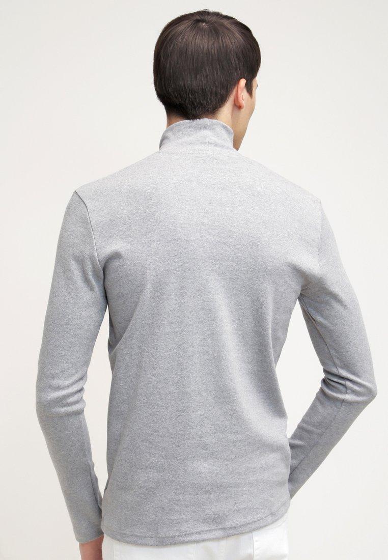Samsøe Samsøe MERKUR - Camiseta de manga larga - light grey melange JnKE8