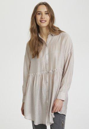 Shirt dress - burnished lilac