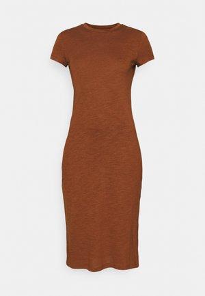Jerseykjole - brown