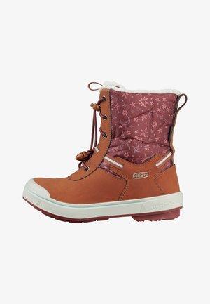 Hiking shoes - caramel cafe/harbor gray