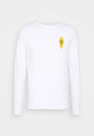 HAN LONG SLEEVE - Long sleeved top - bright white
