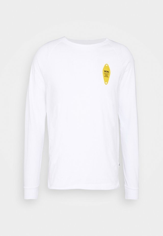 HAN LONG SLEEVE - Maglietta a manica lunga - bright white