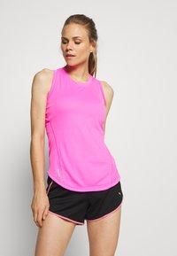 Puma - IGNITE TANK - Camiseta de deporte - luminous pink - 0