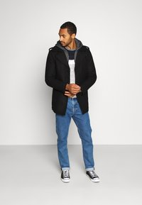 INDICODE JEANS - ADAIR - Short coat - black - 1