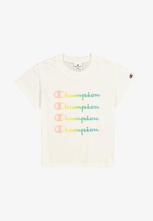 CHAMPION LEGACY  T-SHIRT - Print T-shirt - white