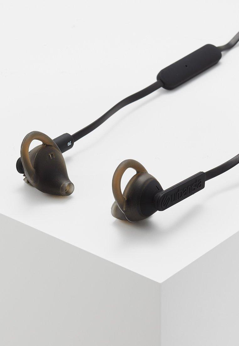 Urbanista - BOSTON SPORT BLUETOOTH - Headphones - dark clown - black