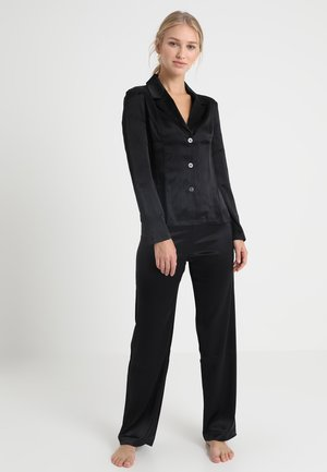 LONG PAJAMAS SHORT VERSION SET - Pigiama - black