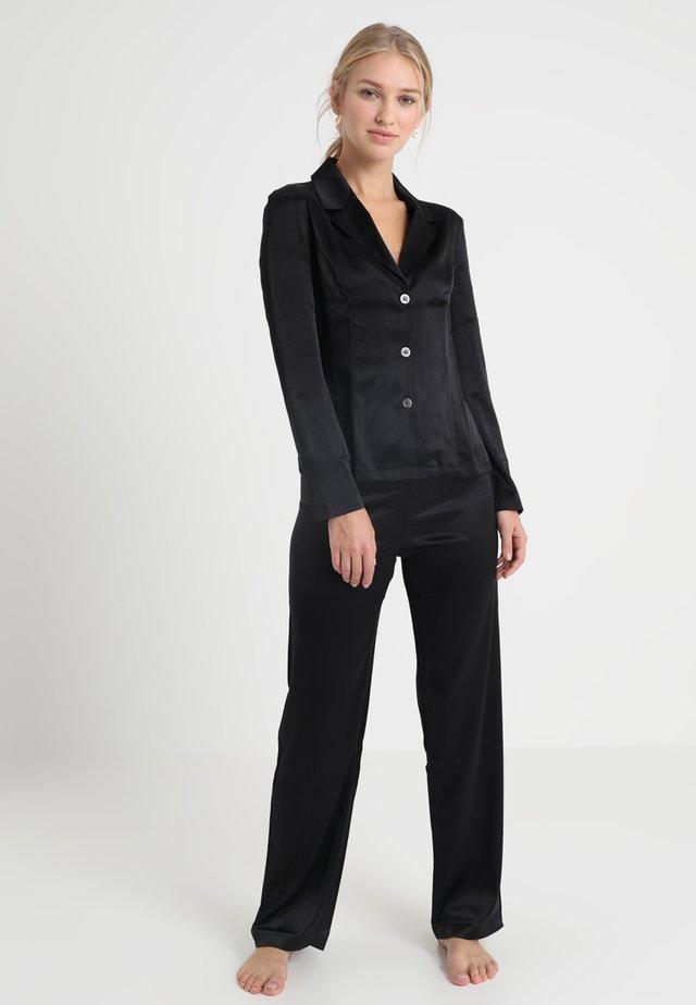 LONG PAJAMAS SHORT VERSION SET - Pyjamas - black