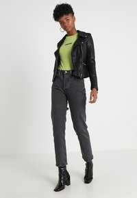 Levi's® - 501 CROP - Straight leg jeans - dancing in the dark