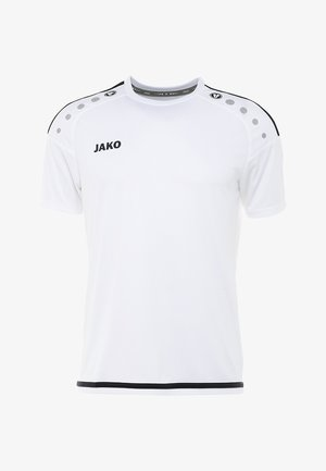 TRIKOT STRIKER  - Sports shirt - weiß/marine