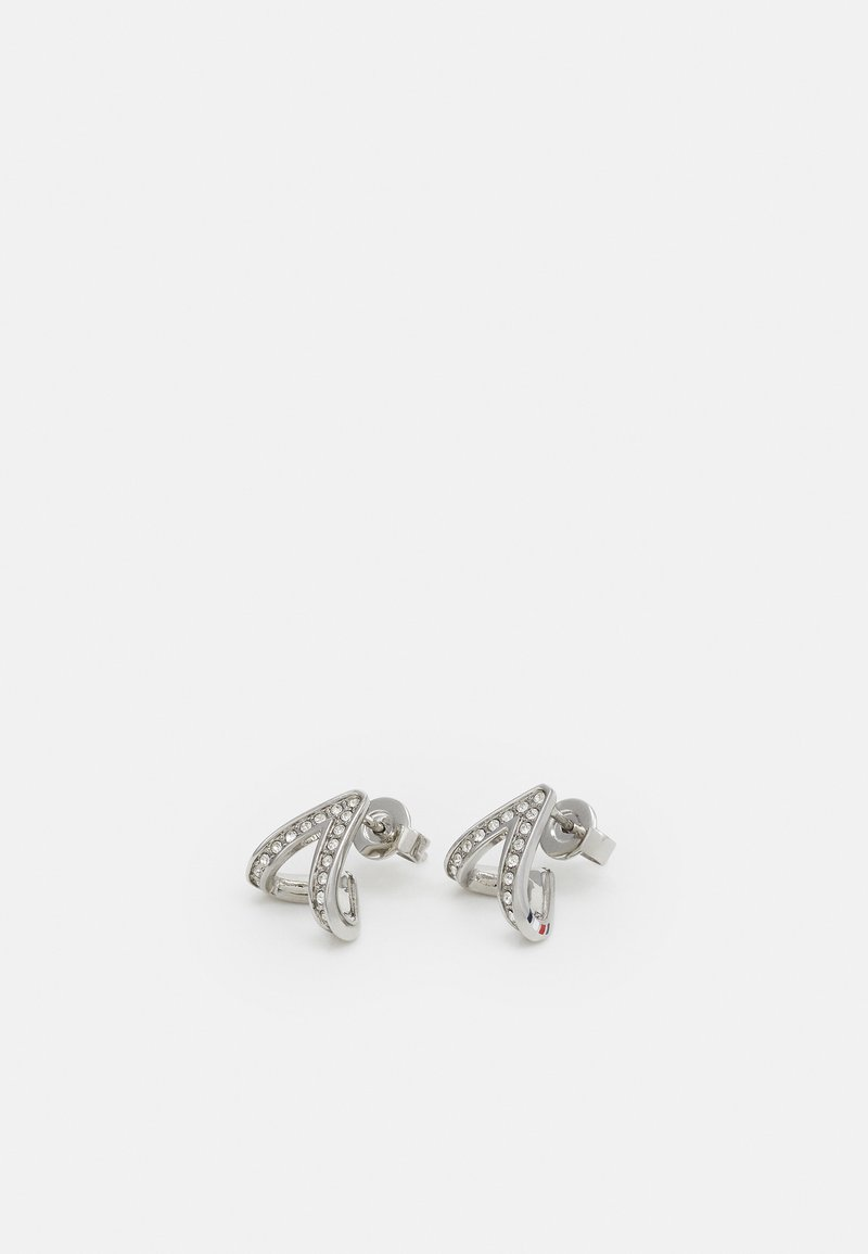 Tommy Hilfiger - DRESSED UP - Earrings - silver-coloured